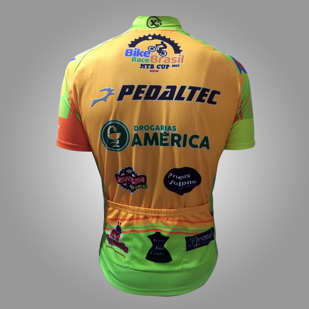 85cd2248a2 Camisa de Ciclismo Bike Race Brasil 2017 – X5 BIKERS